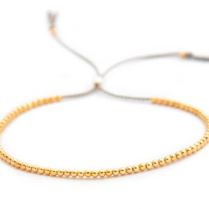 14ct sold gold delicate bracelet