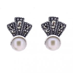 Vintage Freshwater pearl earrings