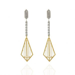 unique contemporary drop earrings