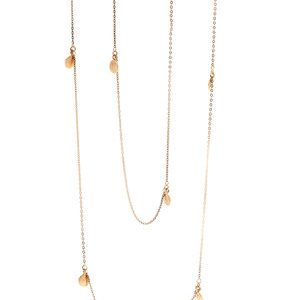 Gold Wrap Necklace