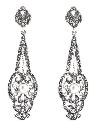 Vintage Style Freshwater Pearl Earring