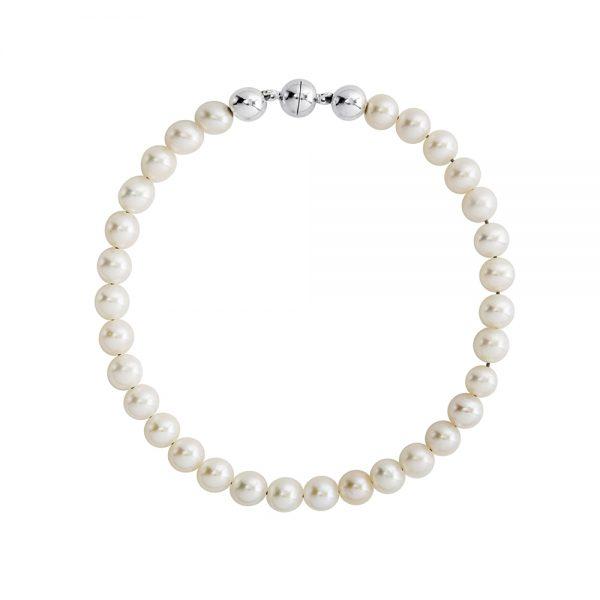 Button Pearl Bracelet Magnetic