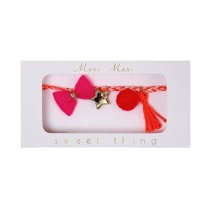 Childrens Tassle Bracelet
