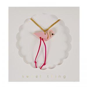 Childrens Flamingo Necklace