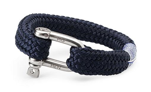 Fat Fred Mens Bracelet Navy